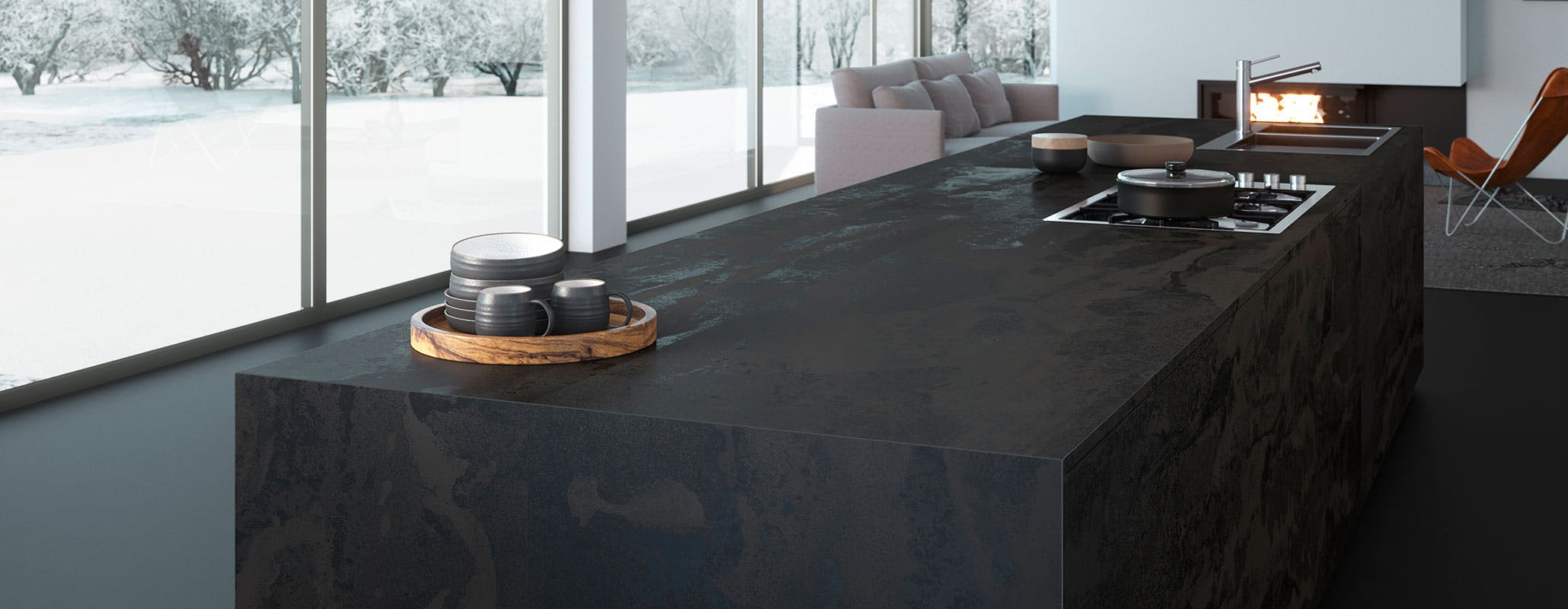 Top Cucina Dekton.Dekton Superfici Ultracompatte Per Top Cucina Di Design