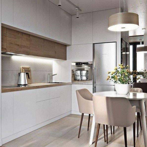 Idee per arredare una piccola cucina di design ...